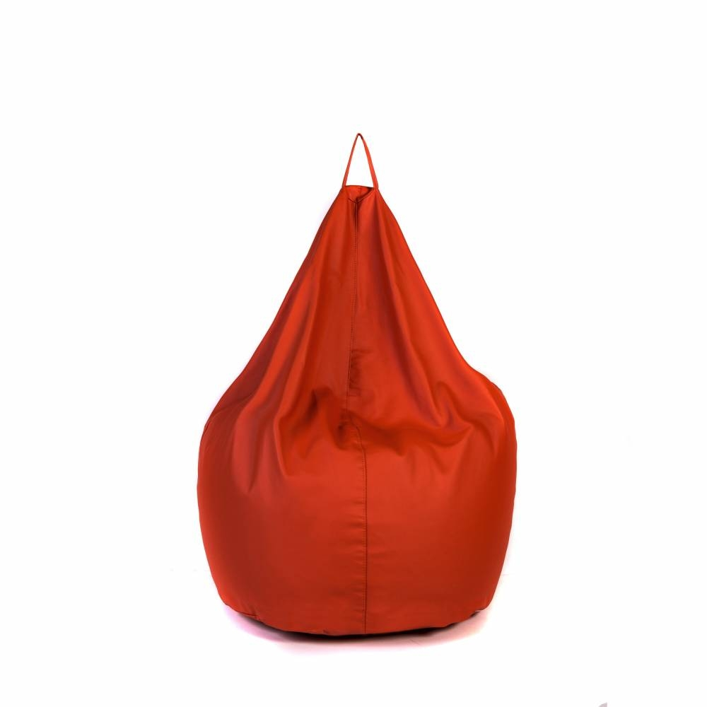 BASTILLE Orange | Lazy Life Paris | Pear-shaped bag indoor