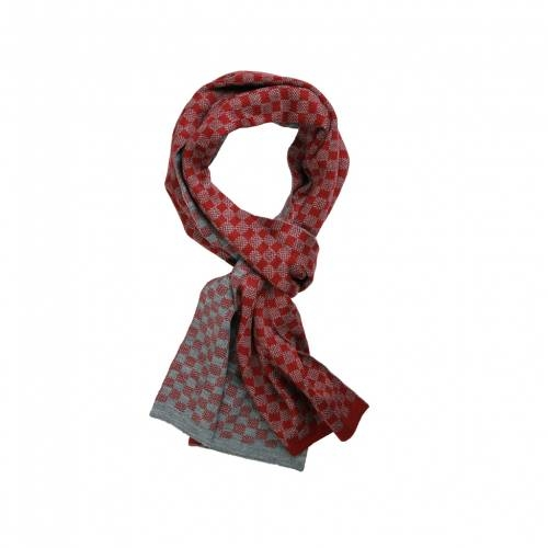 Red & Grey Checkered