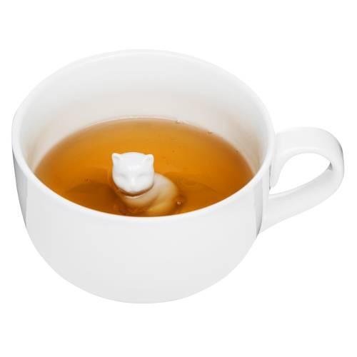 Porcelain Cat Mug