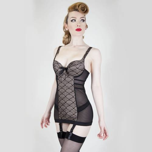 Playful Promises | Brigitte Garter Dress