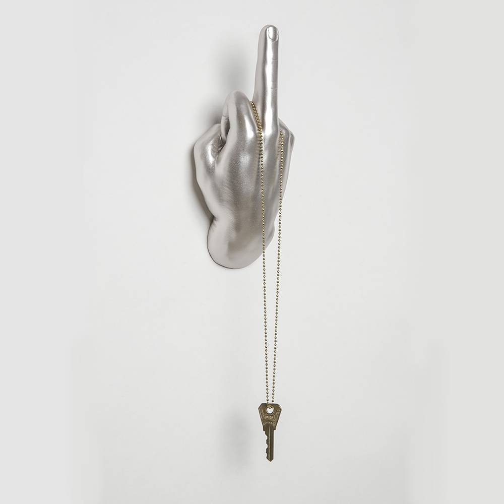 Middle Finger Wall Hook | Interior Illusions