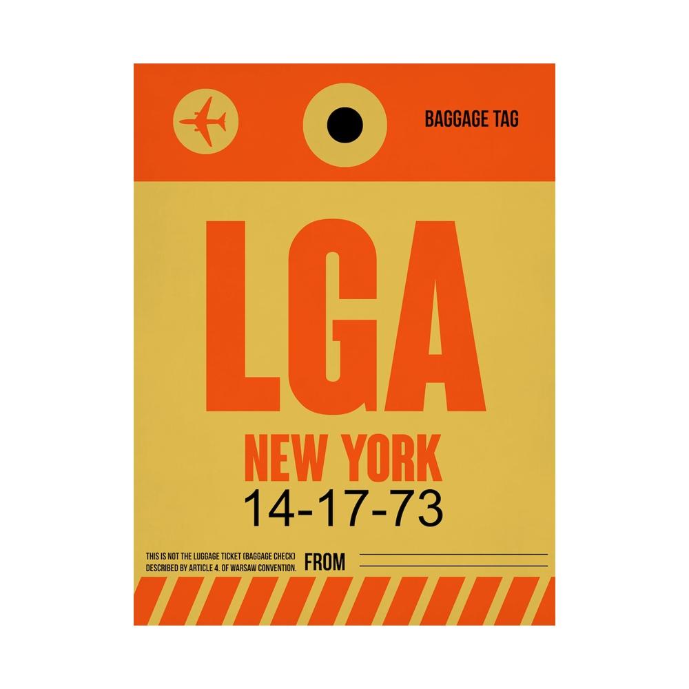 NaxArt | LGA New York Poster