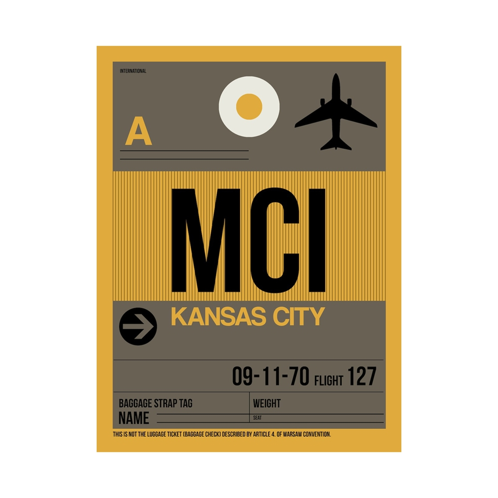 Naxart | MCI Kansas City Poster