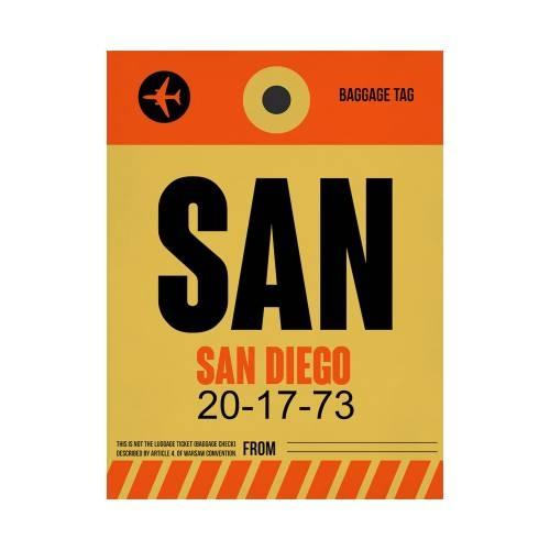 NaxArt | SAN San Diego Poster