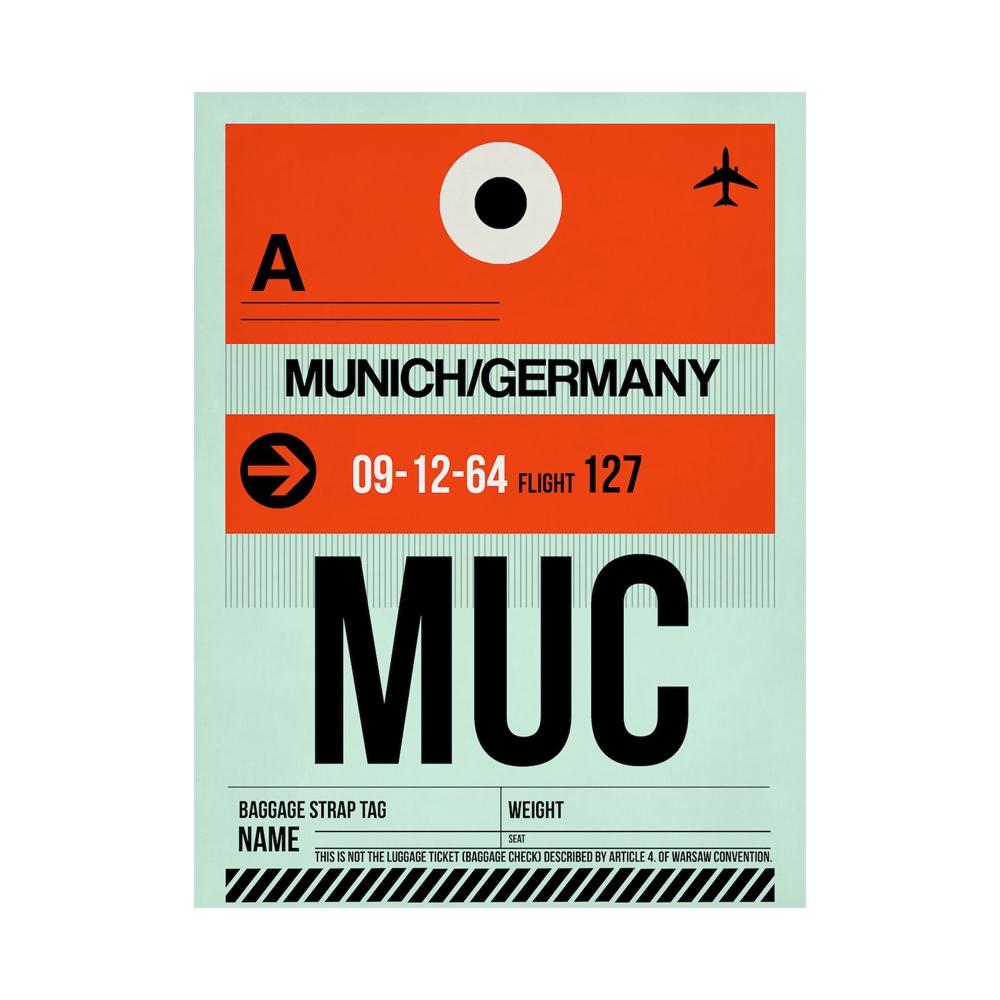 NaxArt   MUC Munich Poster