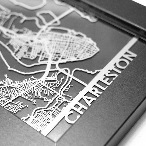Charleston | Cut Maps