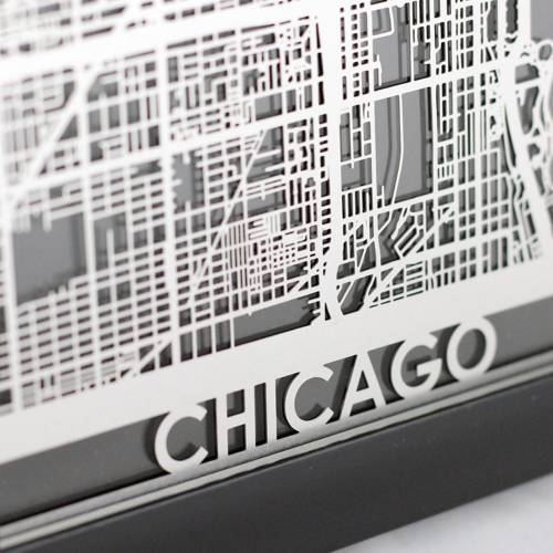 Chicago | Cut Maps