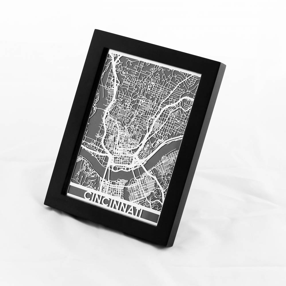 Cincinnati | Cut Maps