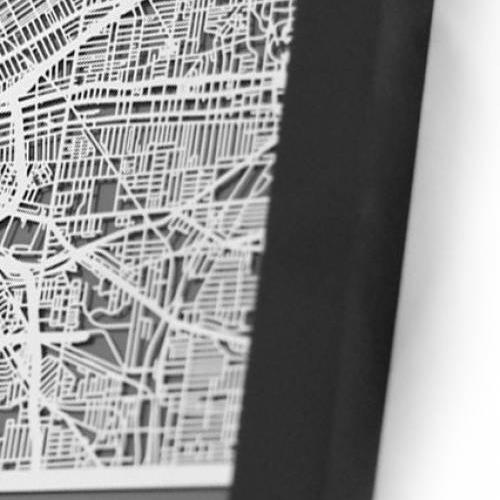 Cleveland   Cut Maps