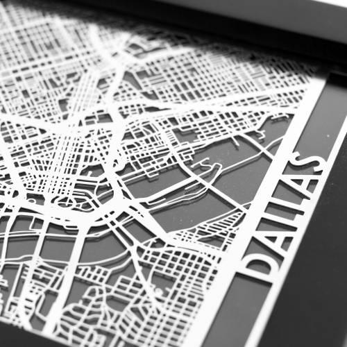 Dallas   Cut Maps