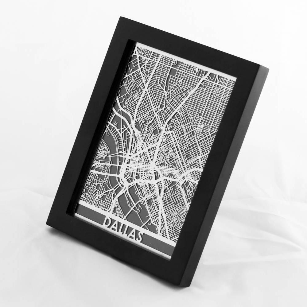 Dallas | Cut Maps