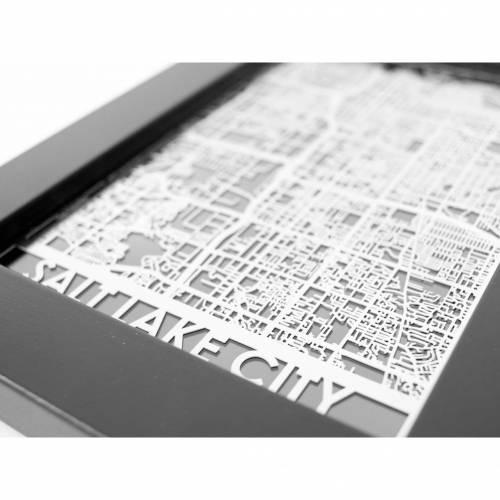 Salt Lake City | Cut Maps