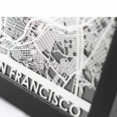 San Francisco   Cut Maps