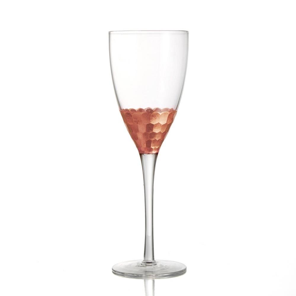Daphne Copper Set of 4 Wine Glasses | Jay Companies