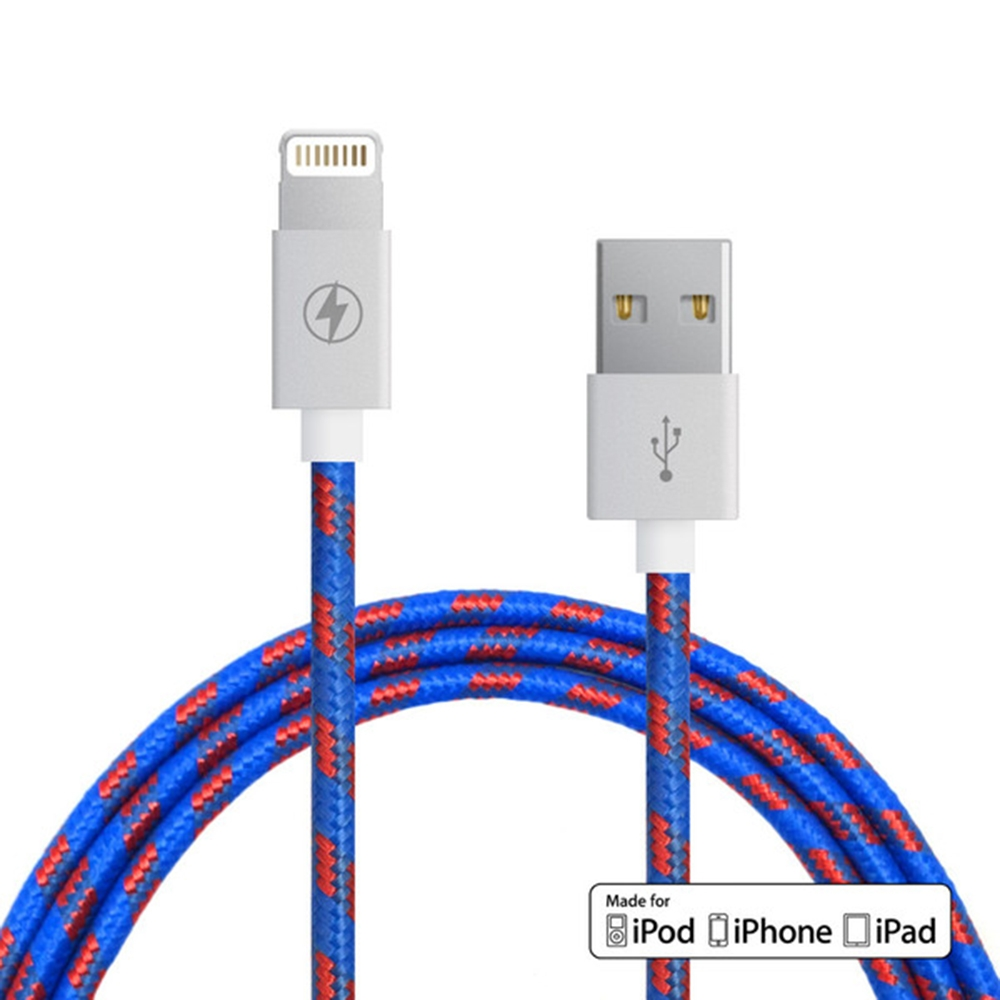 Varsity Lightning Cable | Charge Cords