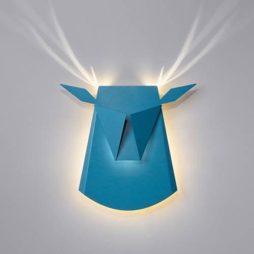 Aluminum Deer Head LED   Plug