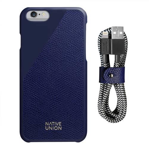 iPhone Case Set   CLIC Leather Edition   Native Union