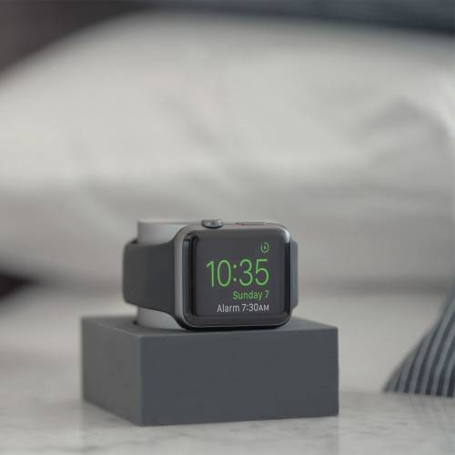 Apple Watch Dock | Native Union | Slate Silicone