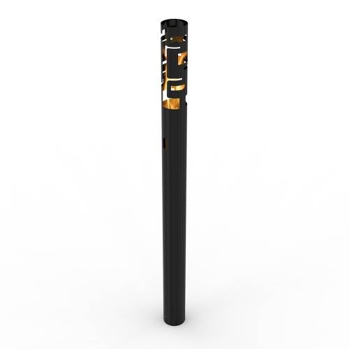 Skyline Bio Ethanol Outdoor Torch In Black | Decorpro