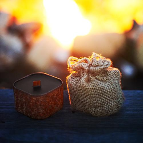 Outlaw - Amber Cedar Wood Campfire| Wild Well Supply Candles
