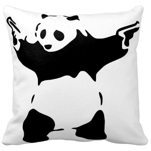 Panda With Guns