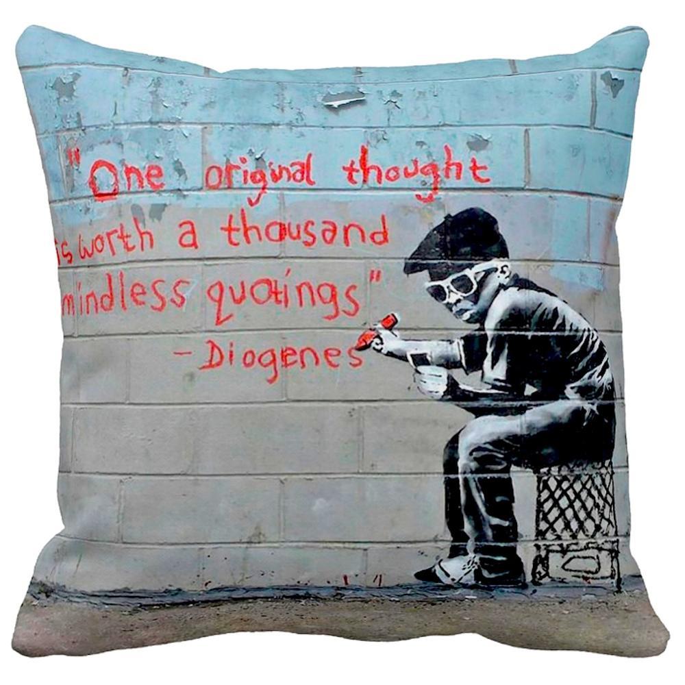 One Original Thought | Banksy Art | iLeesh