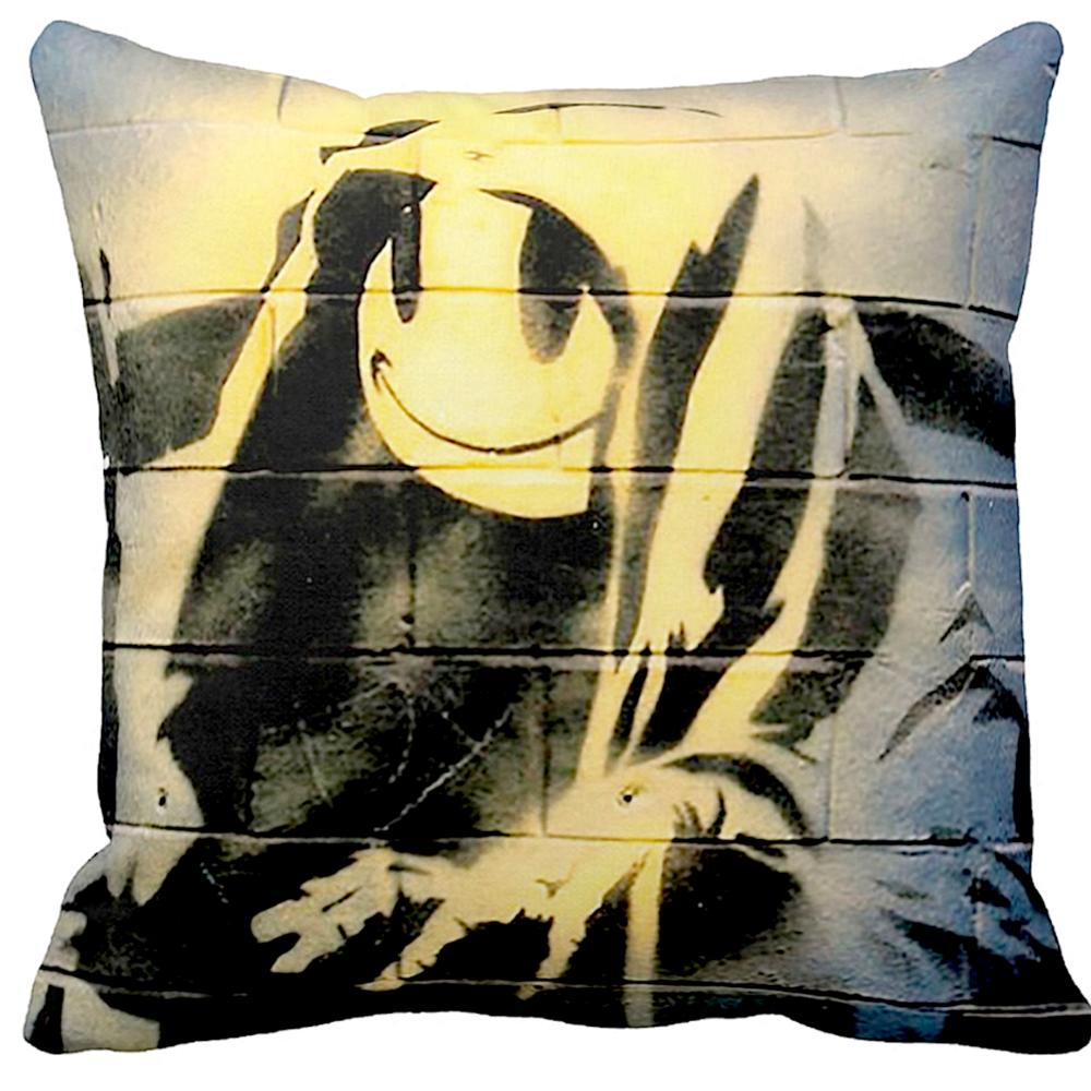 Smiley Grim Reaper | Banksy Art | iLeesh