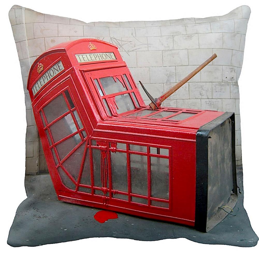 Telephone Box   Banksy Art   iLeesh