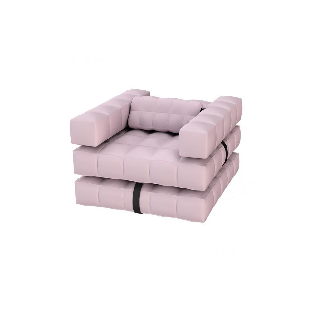 Armchair / Single Lounger Set   Rose Pink   Pigro Felice