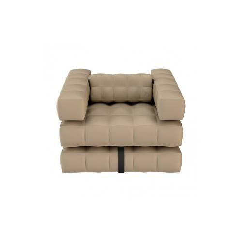 Armchair / Single Lounger Set | Sand | Pigro Felice