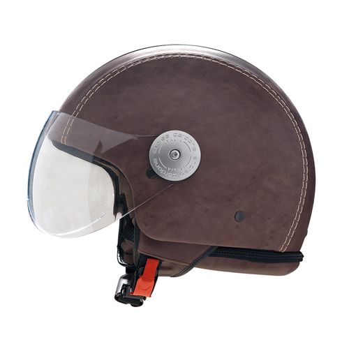 Leather Helmet | Vintage Brown