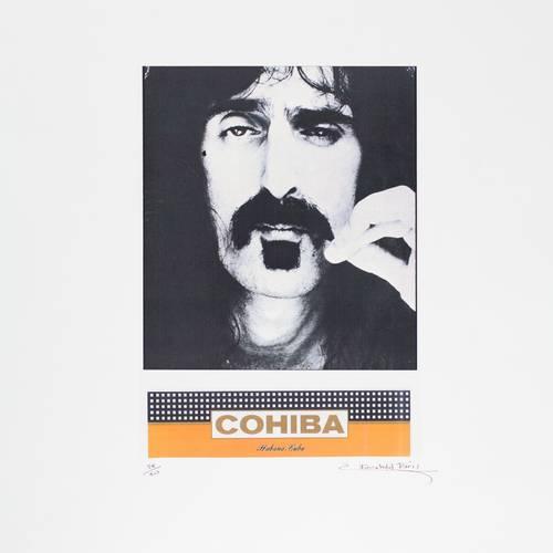 771-CCP00120 | Frank Zappa | Cohiba Signed Art