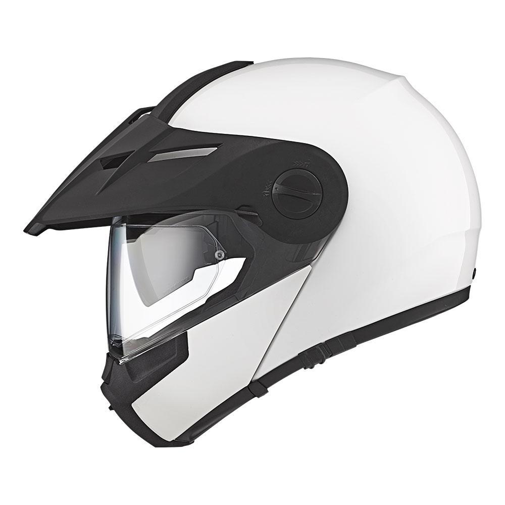 E1   Gloss White   Schuberth Helmets