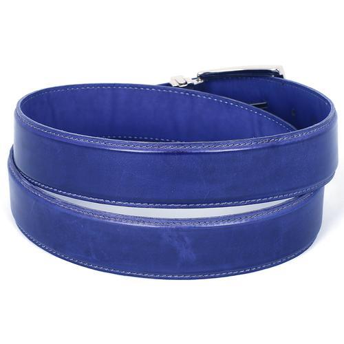 Men's Leather Belt  Cobalt | Blue