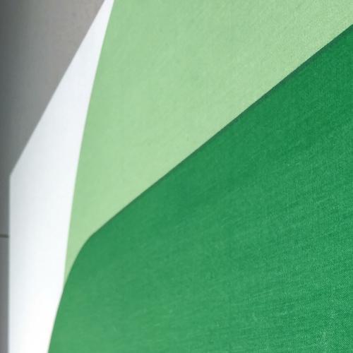 Right Angle //Green Yellow | MidcenturyArt