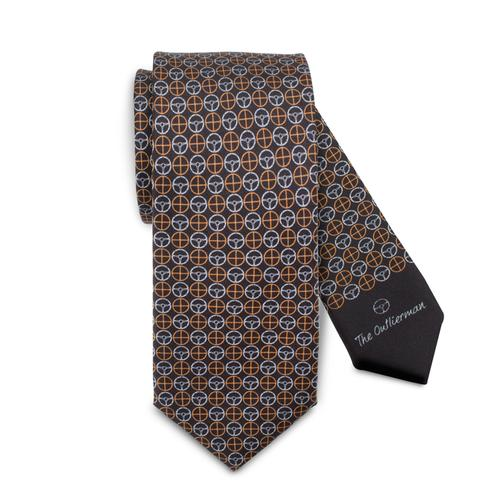 The Icon Tie | Black & Grey