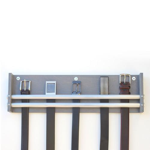 Belt Rack | Double Barrel Industrial | Wood Butcher Designs