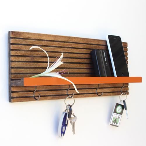 Key Holder / Jewelry Organizer | Espresso