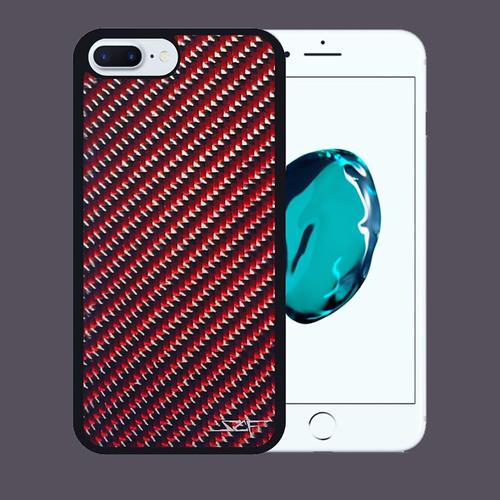 Carbon Fiber iPhone 7 Case | Red | Simply Carbon Fiber