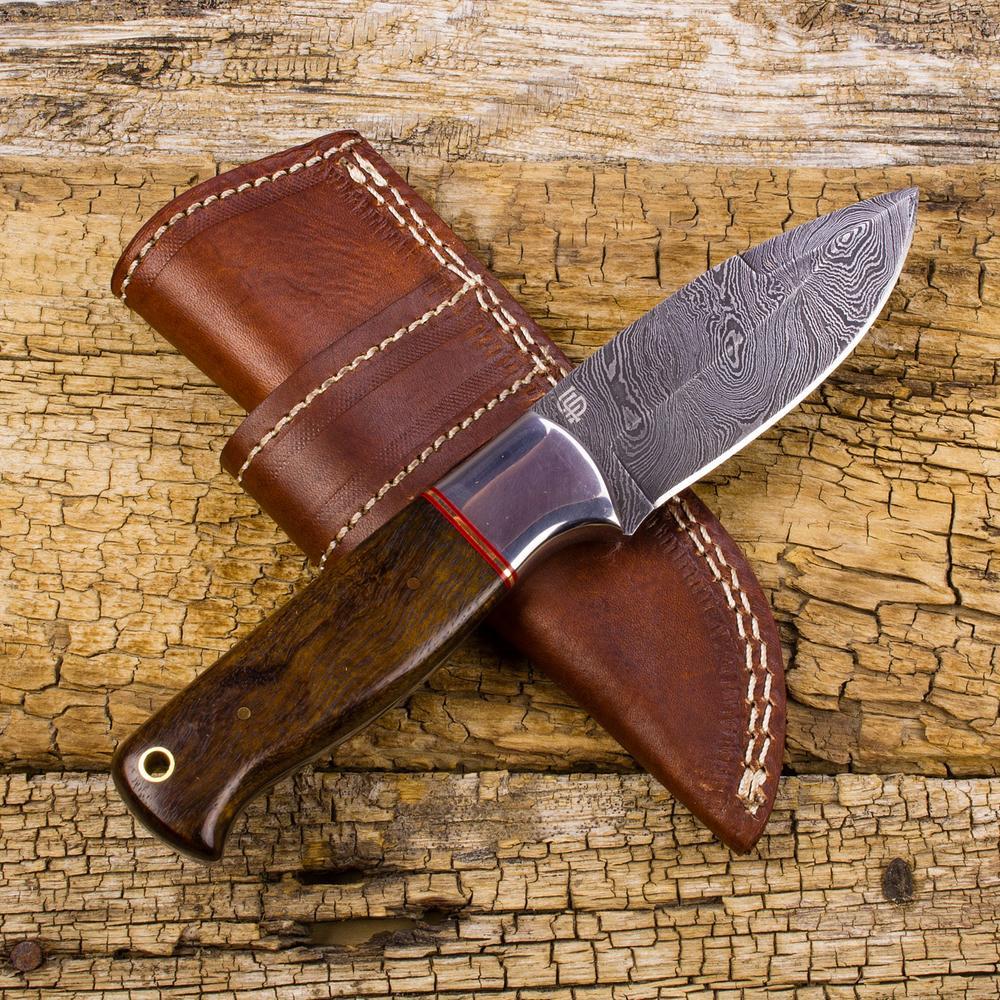 Piccard Damascus Steel Knife | Forseti Knives