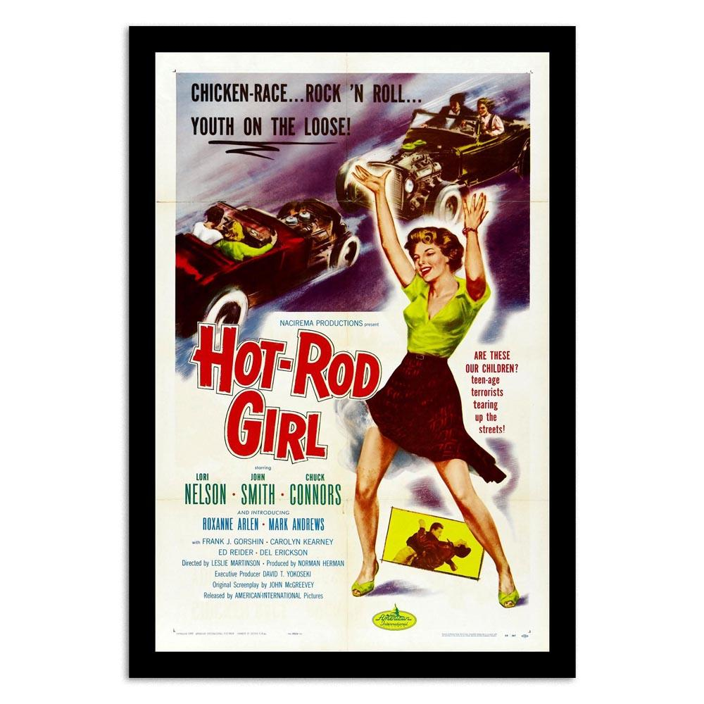 hot rod girl paper movie posters