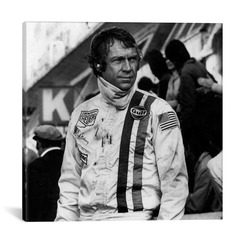Steve Mcqueen In Racing Gear by Retro Images Archive