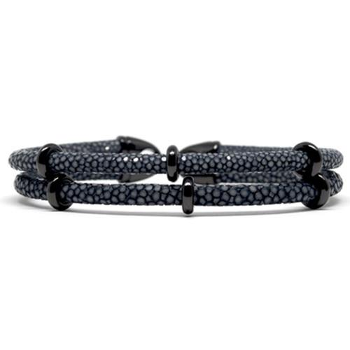 Bracelet | 2x Sting | Gray/Black