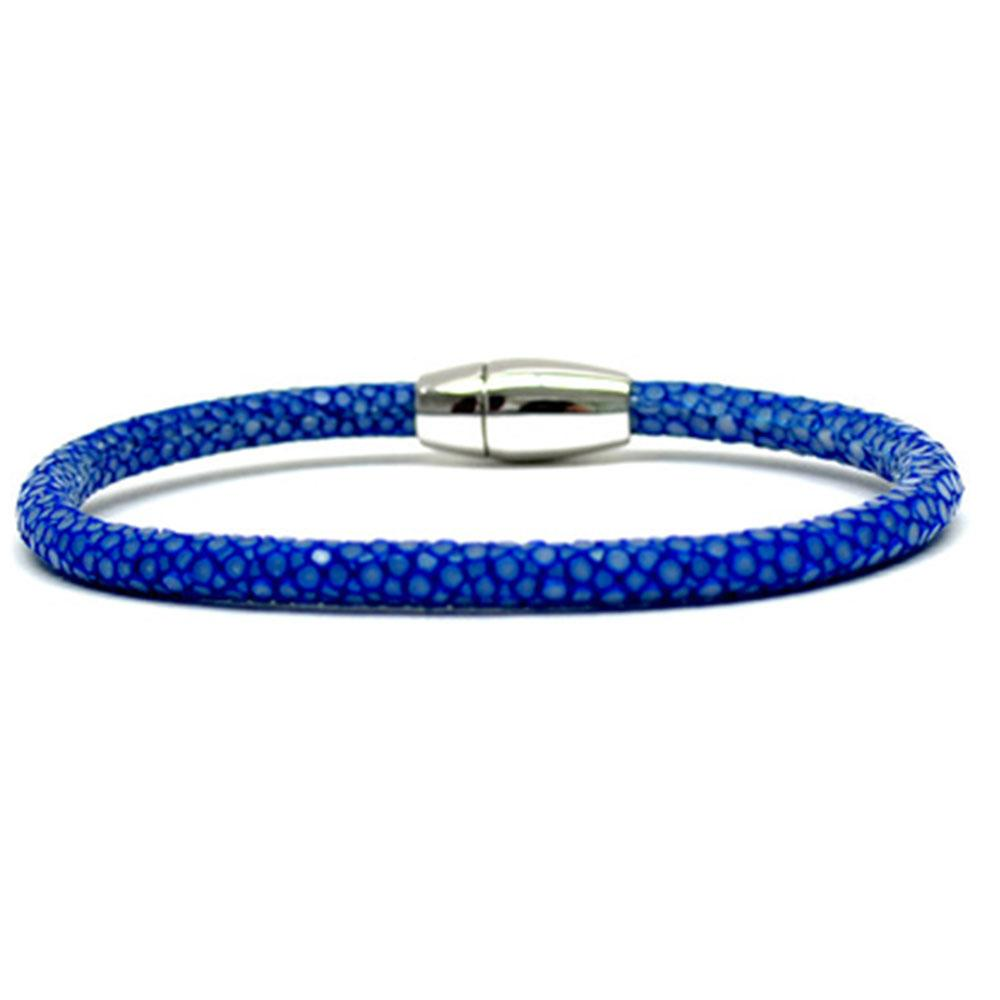 Single Stingray Bracelet | Blue | Double Bone