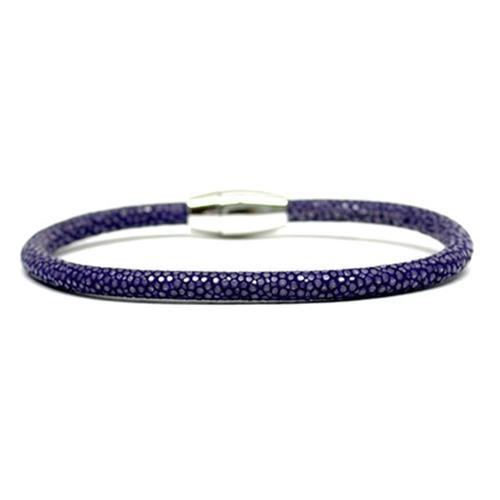 Bracelet | Single Stingray | Purple
