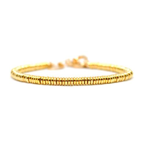Bracelet | Single Beads | Yellow Gold