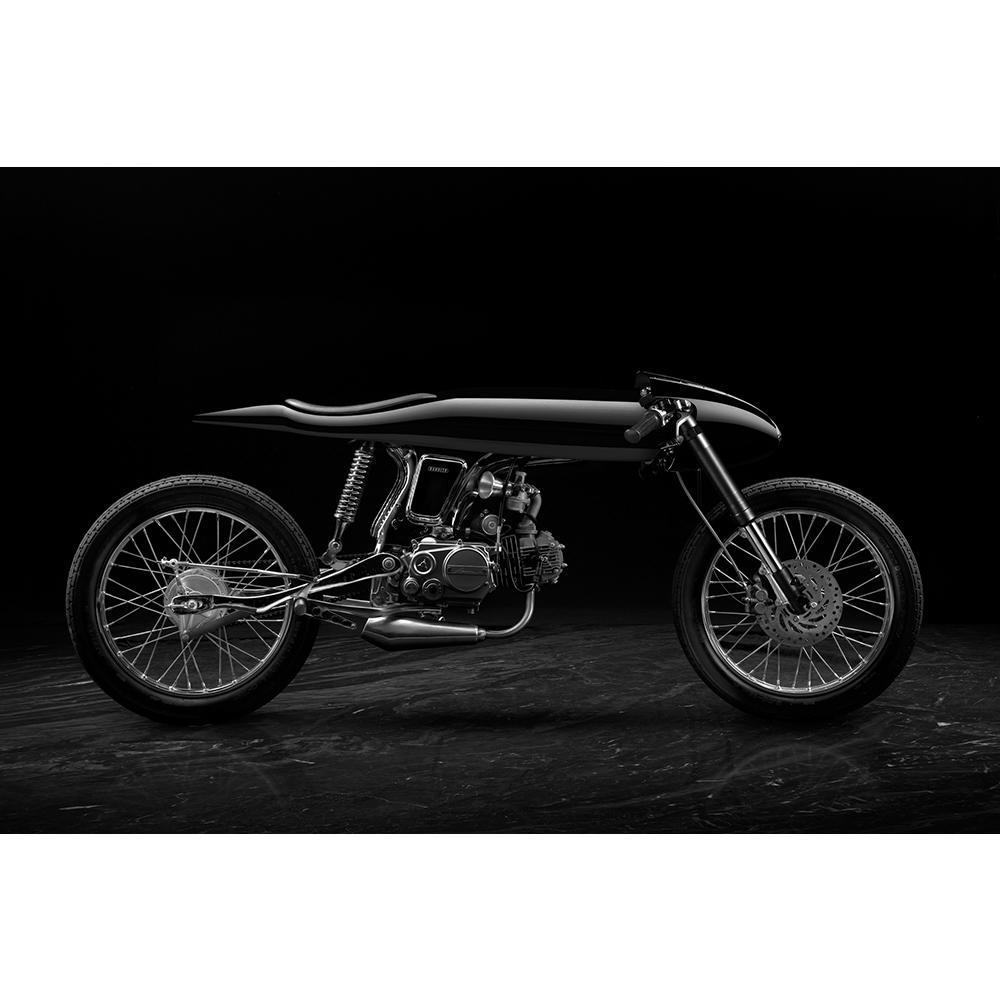 Eve   Black   Honda Supersport 125cc   Bandit9 Motorcycles