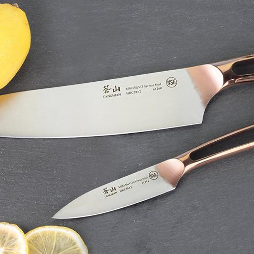 N1 Series 2-Piece | Copper Plated Handles Starter | Cangshan
