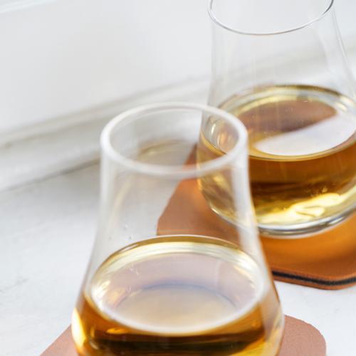 Whiskey Tasting Set | Tumblers/Coasters | 2 Pack | Sagaform