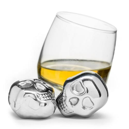Stainless Steel Drinking Stones | Set of 2 | Sagaform